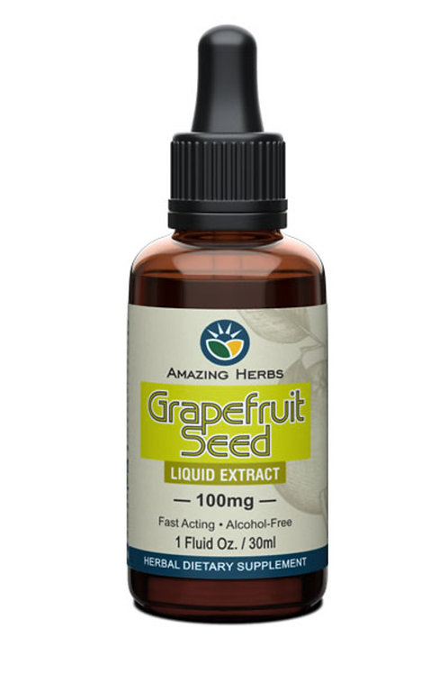 Amazing Herbs Grapefruit Seed Extract 30ml