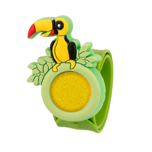 """Silicone Aromatherapy Diffuser Bracelet for Kids """"Toucan"""""""