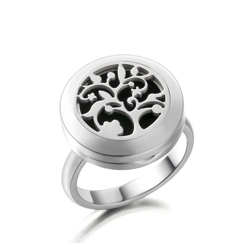 Essential Oil Diffuser Ring Tree of Life