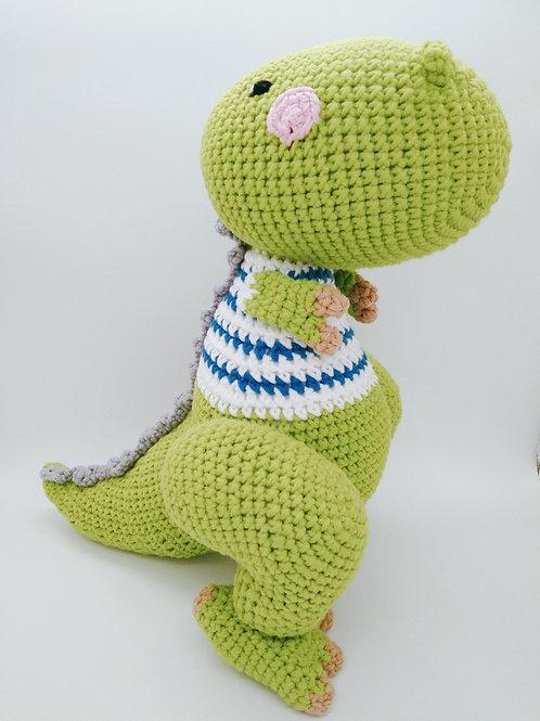 Handmade Crochet Dino Trex