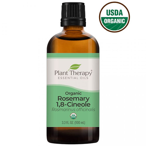 Plant Therapy Rosemary 1,8-Cineole Organic Essential Oil
