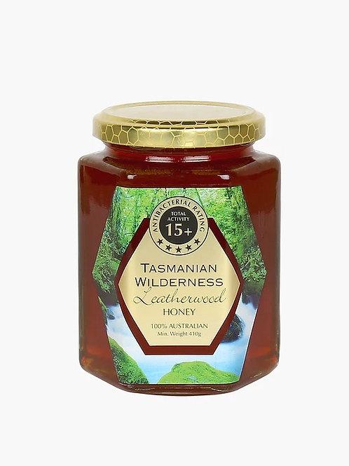 Leatherwood Honey TA 15+ (410g)