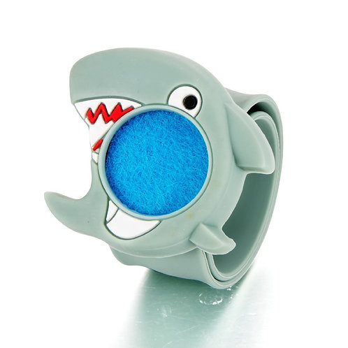 "Silicone Aromatherapy Diffuser Bracelet for Kids ""Shark"""