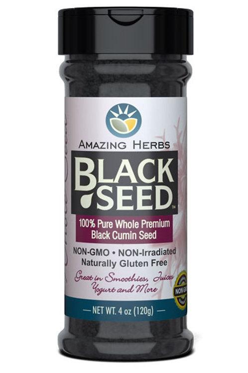 Amazing Herbs Black Seed 100% Pure Whole Black Seed