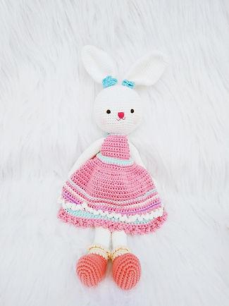 Handmade Crochet Rabbit - Bunny Heidi