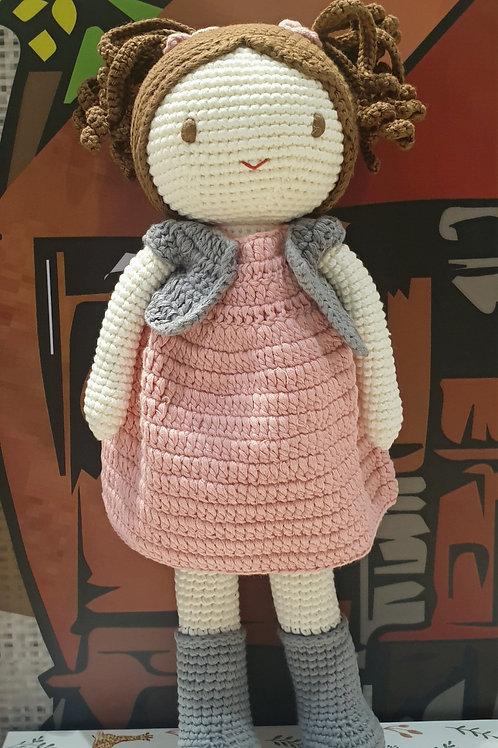 Handmade Crochet doll Emma