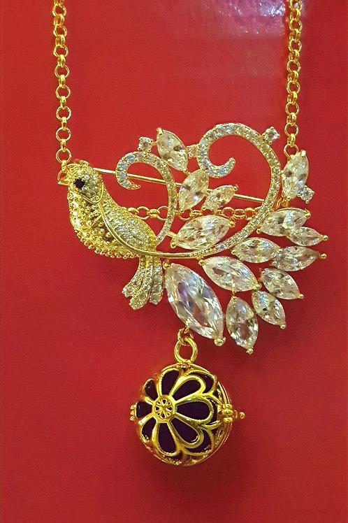 Essential oil Diffuser Locket Necklace
