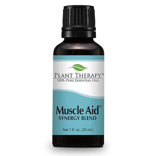 Plant Therapy Muscle Aid Synergy Essential Oil