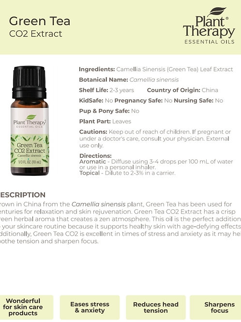 Plant Therapy Green Tea CO2 Extract