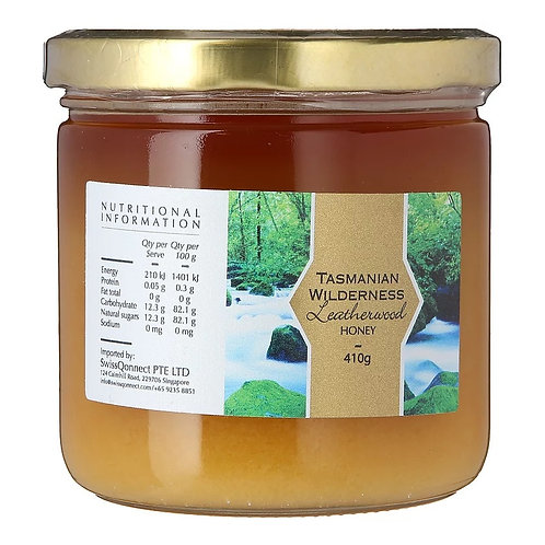 Raw Leatherwood Honey (410g)