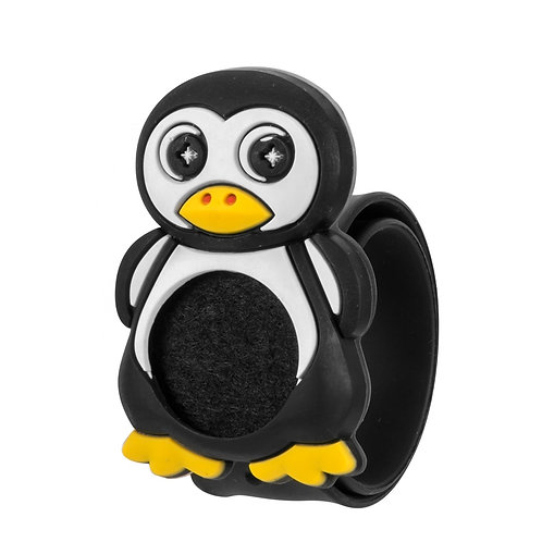 """Silicone Aromatherapy Diffuser Bracelet for Kids """"Penguin"""""""