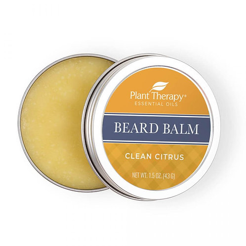 Plant Therapy Clean Citrus Beard Balm (43g)