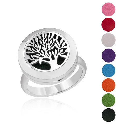 Essential Oil Diffuser Ring- Tree of Life