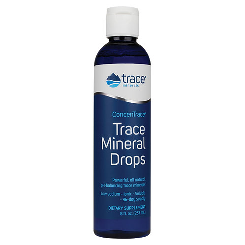 Trace Minerals Research, ConcenTrace, Trace Mineral Drops (237 ml)
