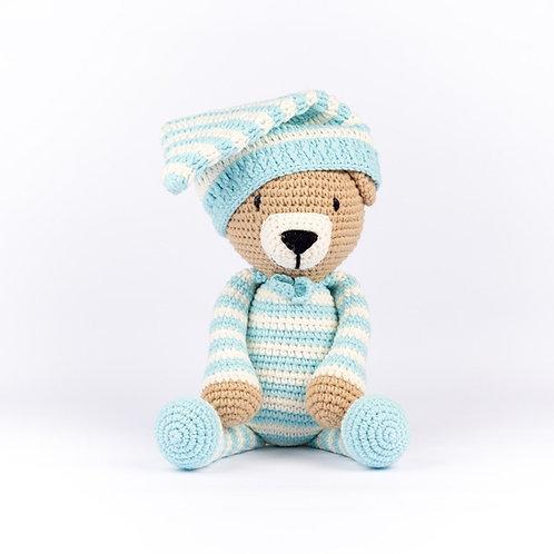 Handmade Crochet Slumber Bear
