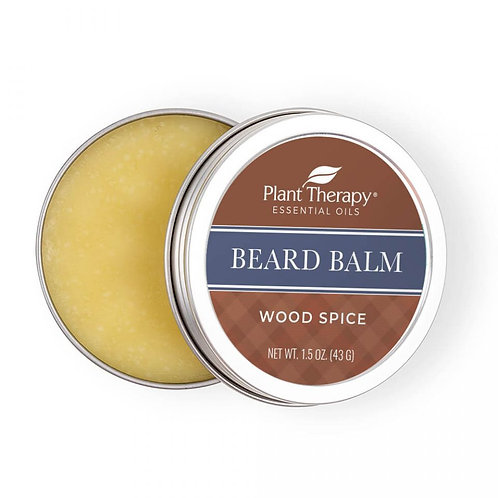 Plant Therapy Wood Spice Beard Balm (43g)