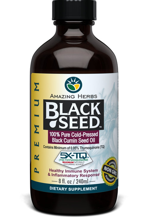 Amazing Herbs Premium Black Seed Oil 240ml