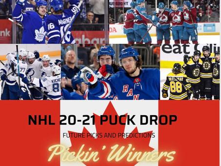 NHL 2021-2022 Puck Drop: Picks and Predictions