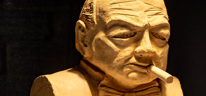 First clay scupture 2014