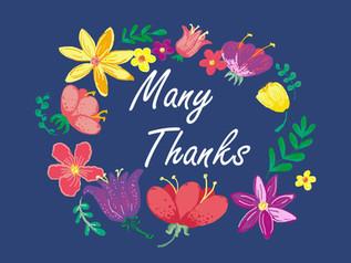 flower ring many thanks