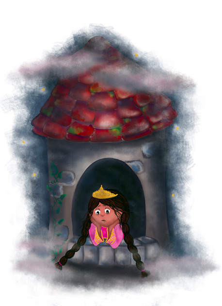 Lonely Princess Lilia