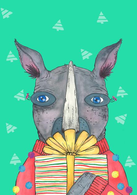 rhino christmas