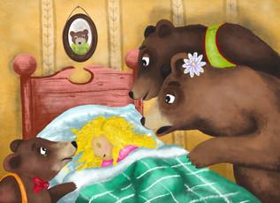 Goldilocks and the three bears- who's sl