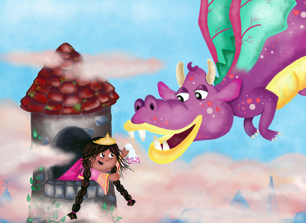 Princess Lilia makes a friend