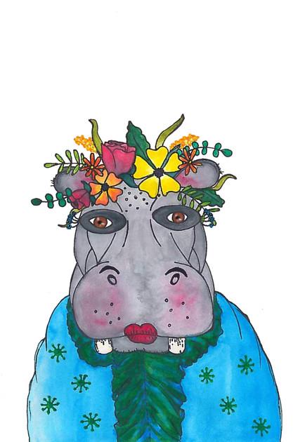 Mrs hippo