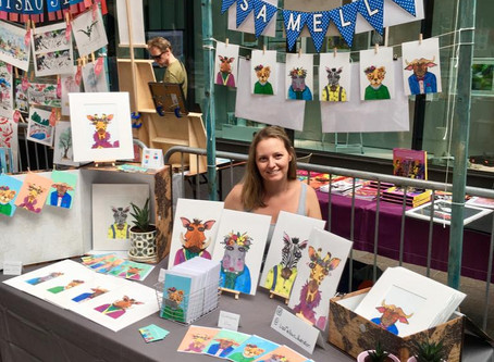 The House of Illustration-Summer Illustration Fair in London