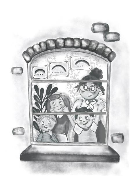 Mary Poppins- spot illustration