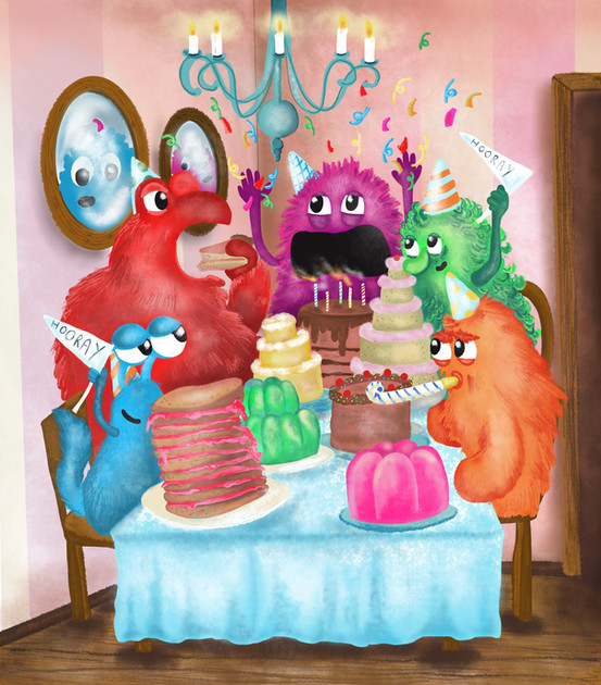 A monster tea party