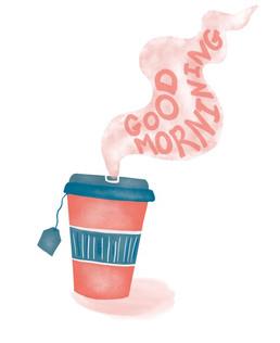 Good morning- spot illustration