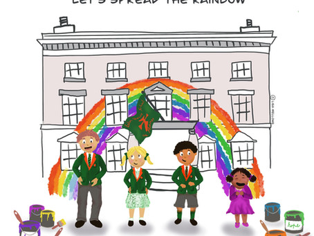 Spread the Rainbow- supporting our carers from Eaton House the Manor School