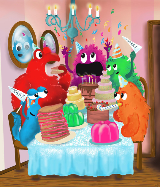 A monster birthday bash!