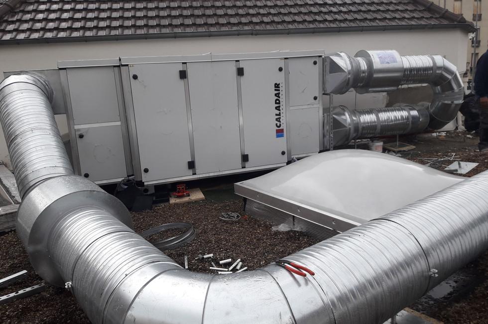 Installation d'une Centrale Thermodynamique