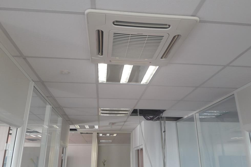 Installation d'une PAC air/air