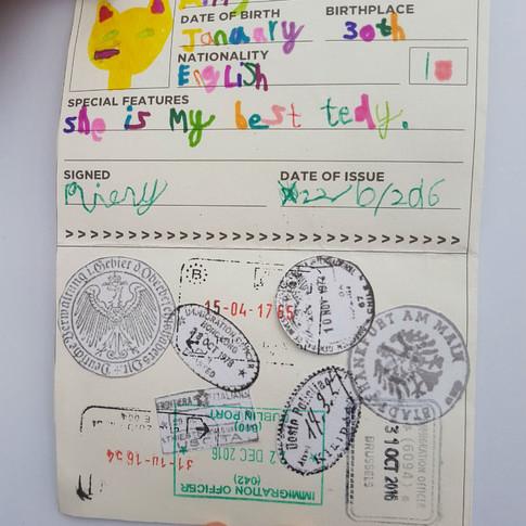 Mimy's Passport