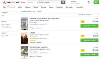 Mondadori Store: Cinzia Laila Cosenza