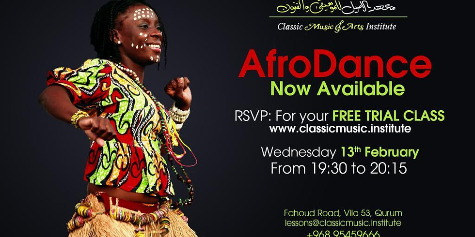Afro Dance Free Trial Class