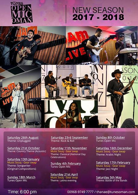 Tunes Oman Open Mic Event