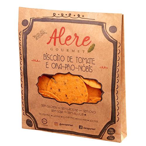 Biscoito de Tomate e Ora Pro Nobis Alere