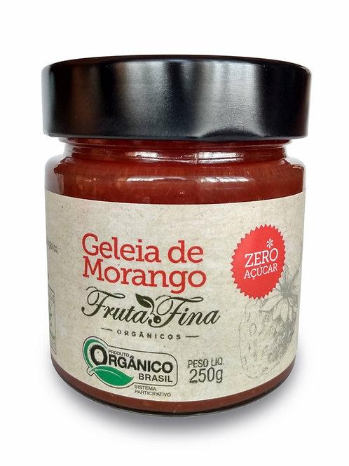 Geleia 100% fruta - MORANGO - zero açúcar e orgânica