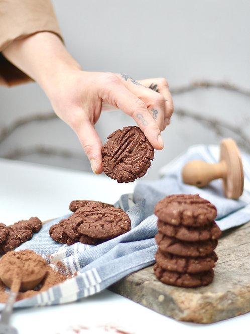 Cookie de Cacau e Especiarias Vegano