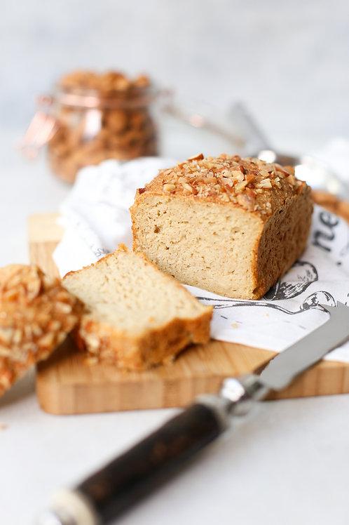 Pão de Batata Doce e Amêndoas Vegano