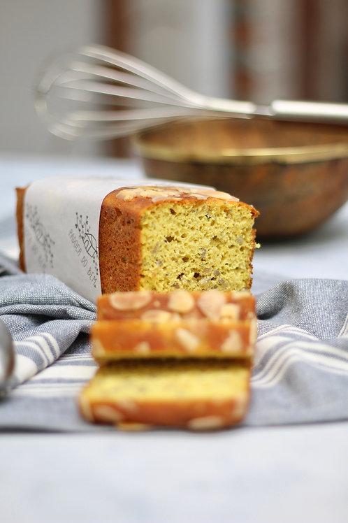 Pão de Amêndoas e Açafrão Low Carb
