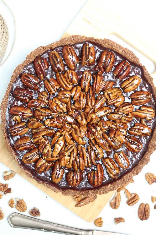 Torta Vegana de Noz Pecãn (grande)