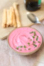 Pink Hommus de Beterraba