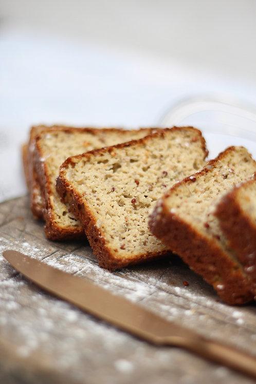 Pão de Castanhas e Sementes Low Carb