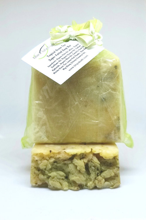 Tropical Green Tea Super-Fatted Soap Bar